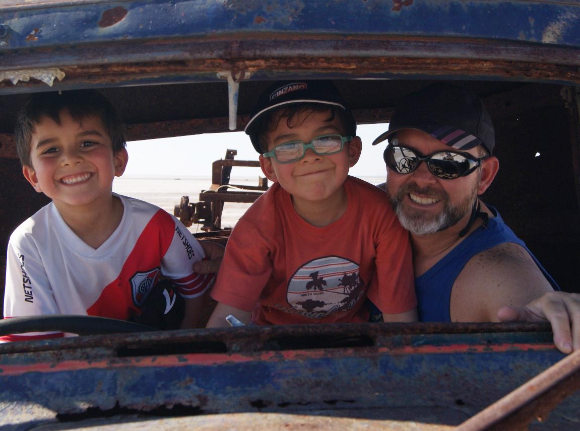 Herán, Tobías y Manuel