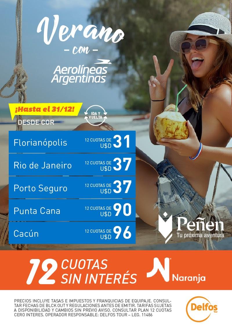 Verano con Aerolíneas Argentinas